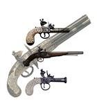 Pistolas de pederneira