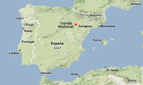 mapa de espanha zaragoza Quem Somos   Loja Medieval mapa de espanha zaragoza