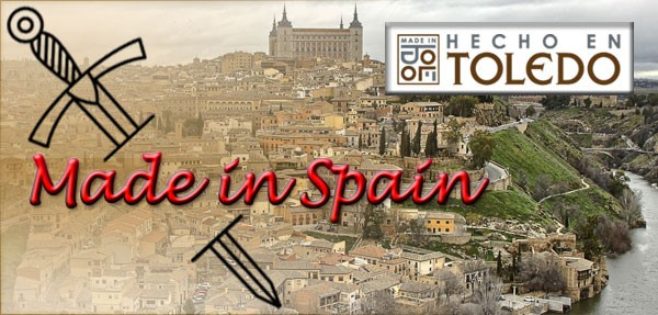 Espadas feitas em Toledo-Espanha