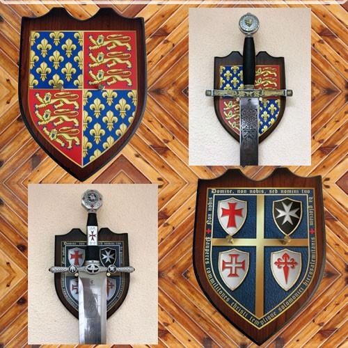 Gift Display comprando uma das espadas à direita
